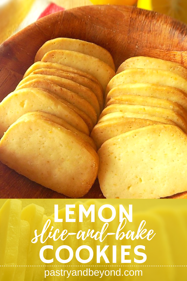 Lemon Slice-and-Bake Cookies