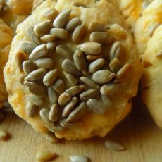 Savory Sunflower Seed Cookies
