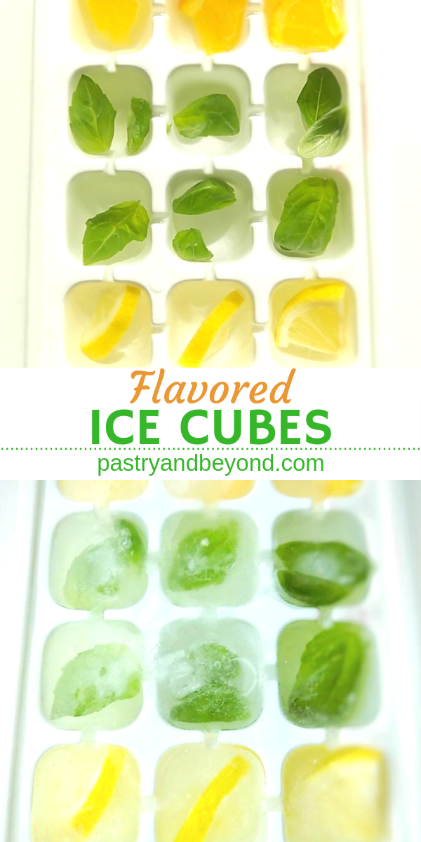 Flavored Ice Cubes