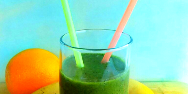 Green Smoothie-Rich in Iron