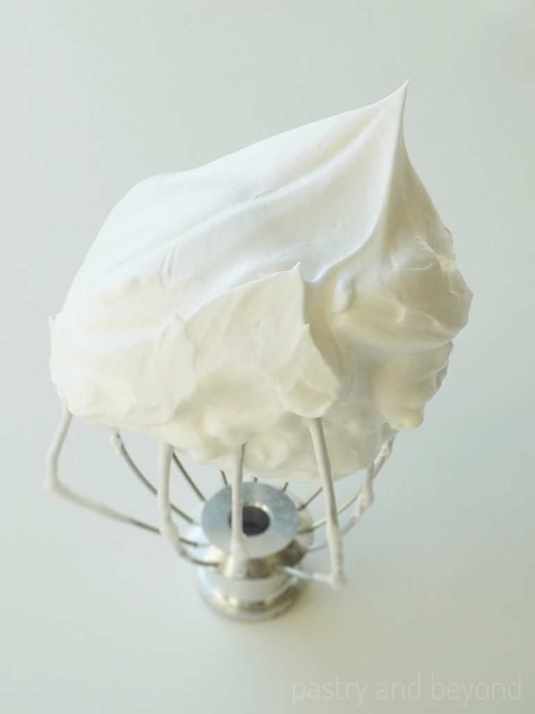 French Meringue on a whisk attachment