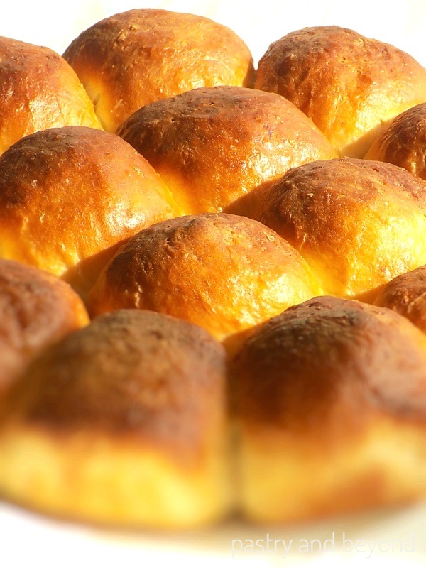 No-Knead Soft Dinner Rolls