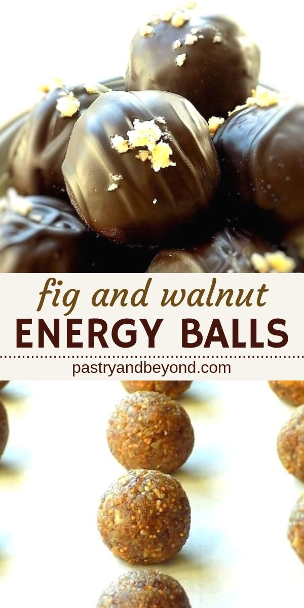 Healthy Fig and Walnut Energy Balls